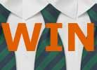 Gewinner der Krawatten-Verlosung